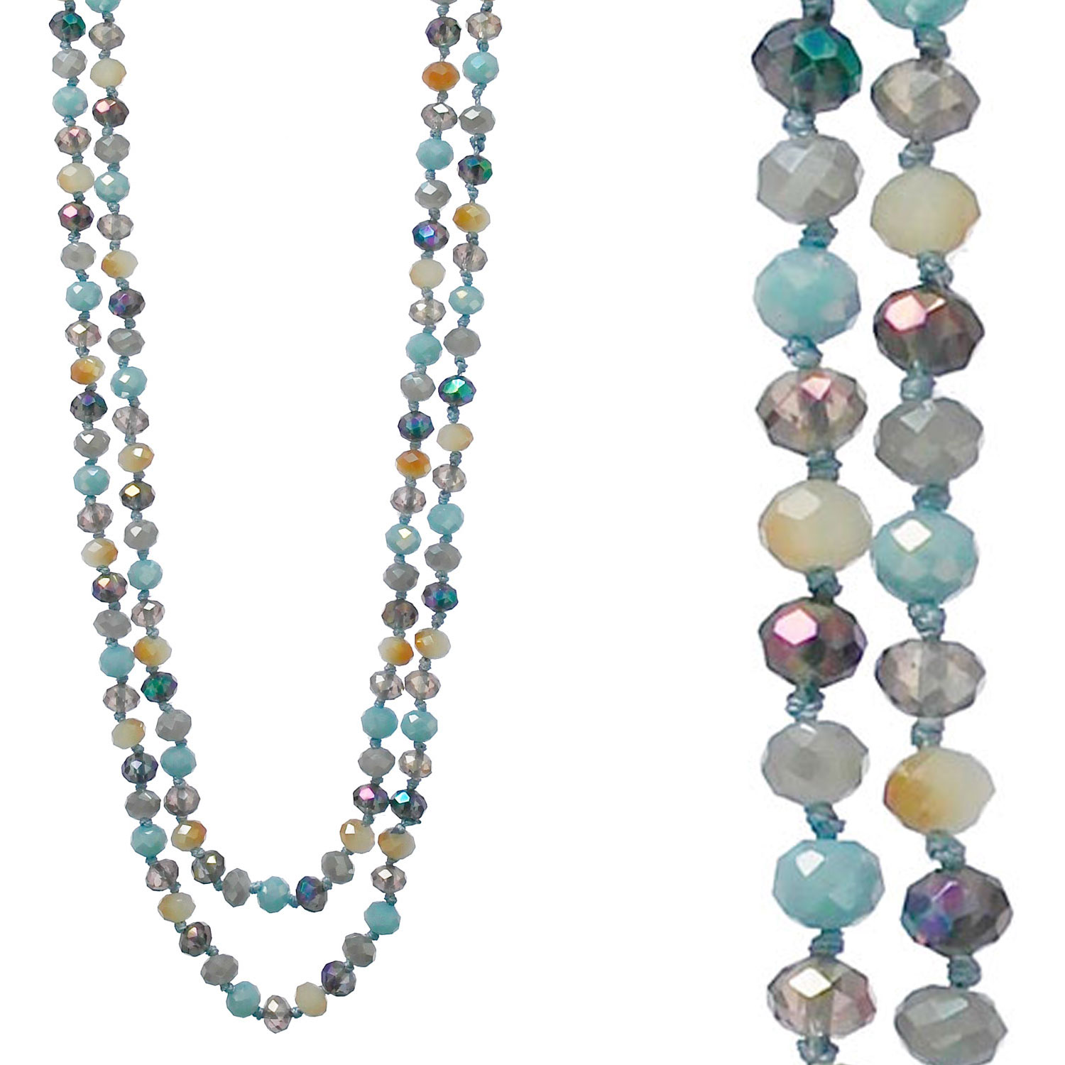 Necklaces &lt; 8mm-60&quot;L Beads Necklaces < Wholesale Necklace