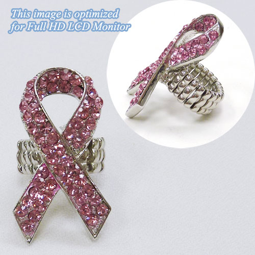 Pink Ribbon &lt; Ring & Hair Accessory < Wholesale Ring