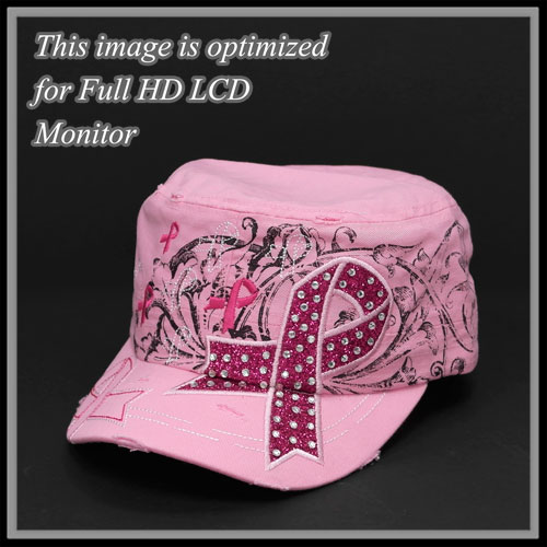 Pink Ribbon &lt; Hat & Scarf < Wholesale Cap