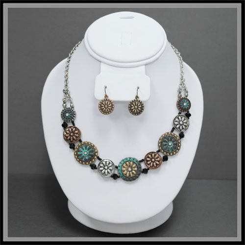 Necklaces &lt; Fashion - Short  < Wholesale Necklace Set