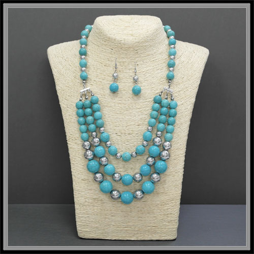 Necklaces < Semi Gems & Beads  < Wholesale Necklace Set