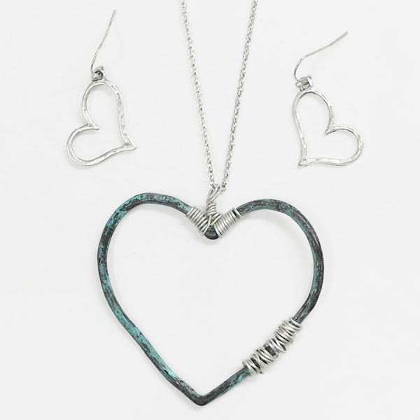 Necklaces &lt; Heart, Star & Wing < Wholesale Necklace Set