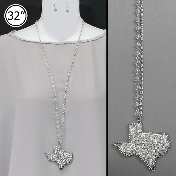 State Map Jewels &lt; Necklace < Wholesale Necklace Set