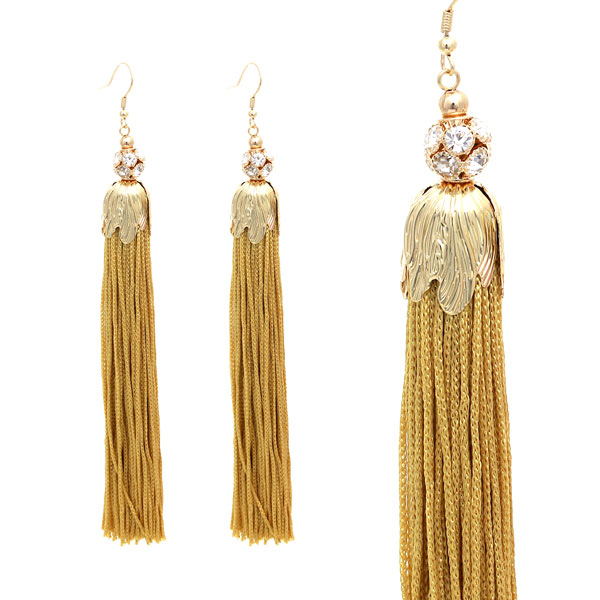 Tassel Accent &lt; Earring < Wholesale Earring