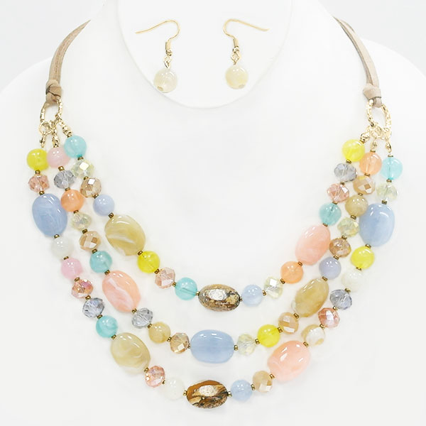 Necklaces &lt; Color-Crush < Wholesale Necklace Set