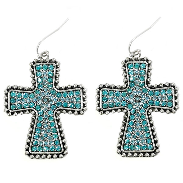 Earring &lt; Cross & Message < Wholesale Earring