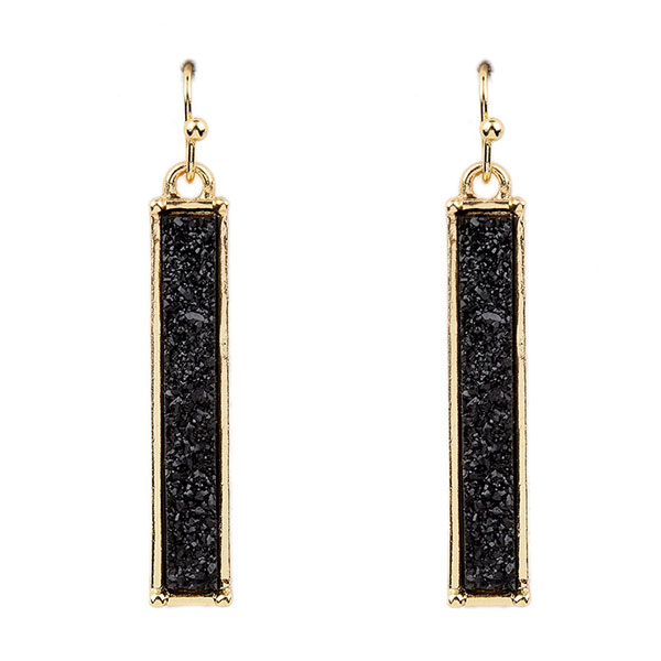 <font color=&quot;black&quot;>Trendy of Stone</font> &lt; Earring < Wholesale Earring