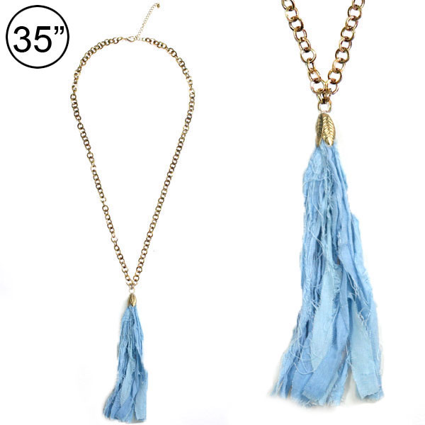 Tassel Accent &lt; Necklace < Wholesale Necklace Set