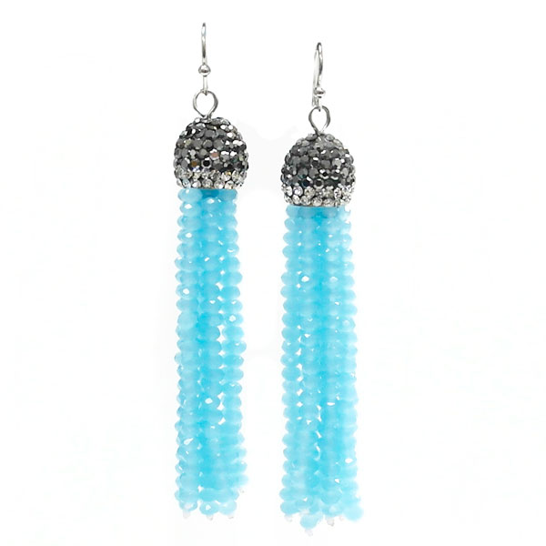 Tassel Accent &lt; Necklace < Wholesale Earring