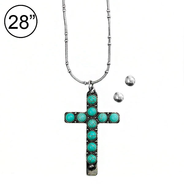 Necklaces &lt; Cross & Message &lt; Necklace Set < Wholesale Necklace
