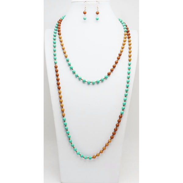 Necklaces &lt; Semi  Genuine  < Wholesale Necklace Set