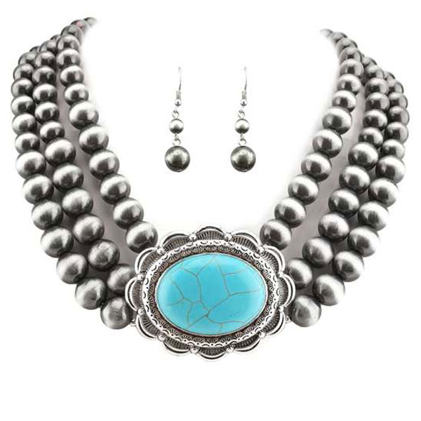 Necklaces &lt; Semi Gems & Beads  < Wholesale Necklace Set