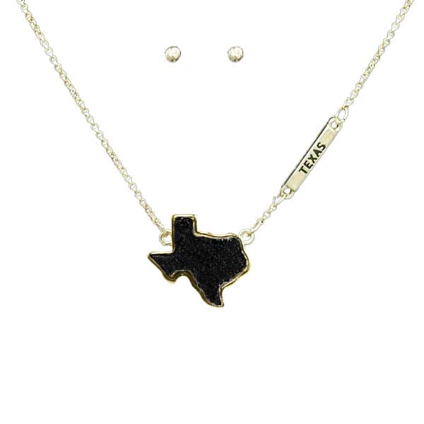 State Map Jewels &lt; Jewelry < Wholesale Necklace Set